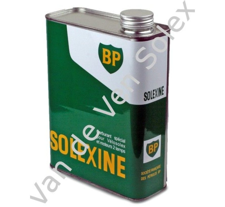 01. Spare can for fuel Solexine green with french text