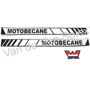 Sticker set Motobecane Solex