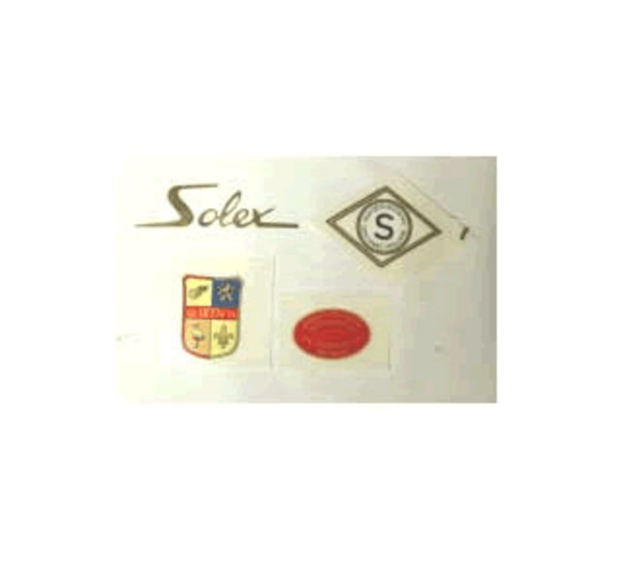 Sticker set 24 inch Solex