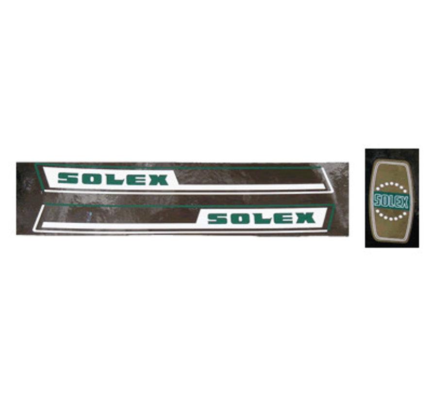 Stickerset Solex 3800 groen/wit