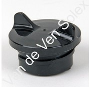 02. Black fuel cap with gasket Solex
