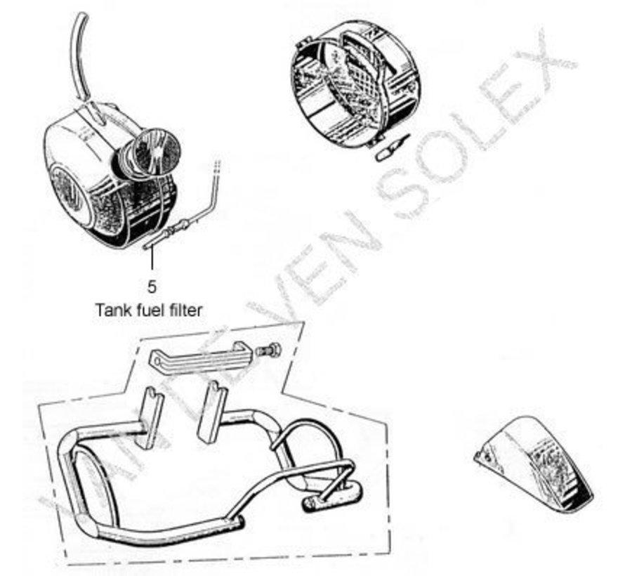 05. Brandstoffilter voor kunststof tank / Tankfilter Solex