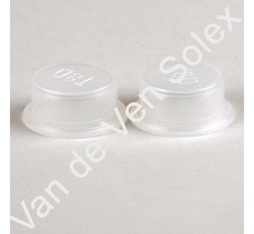 10. Schutzkappe für Motorschutzbügel Solex 2 Stück