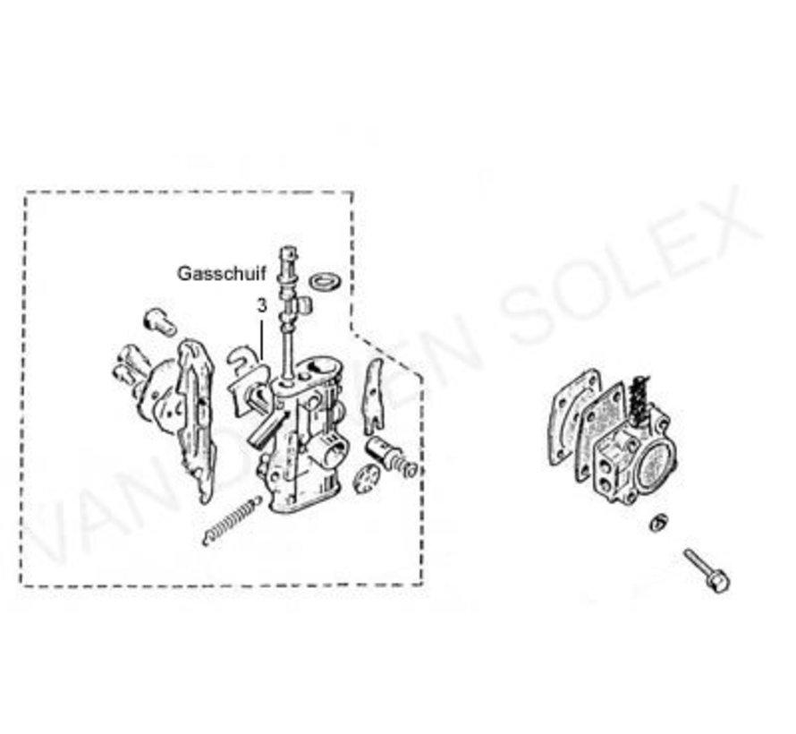 03. Gasschieber Solex