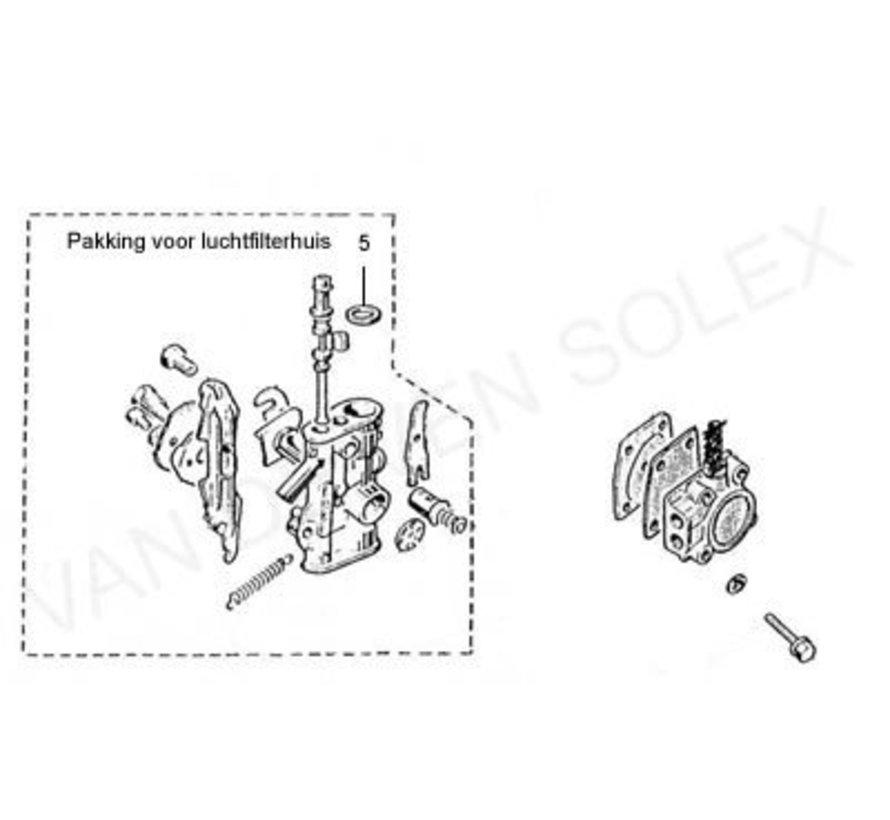 05. Pakking voor luchtfilterhuis Solex