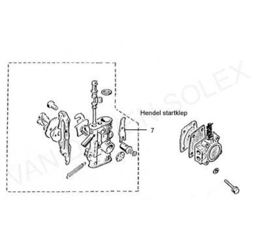 07. Starter valve lever Solex