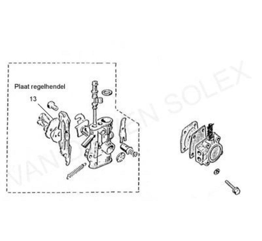 13. Gaszugrolle Kunststoff Solex