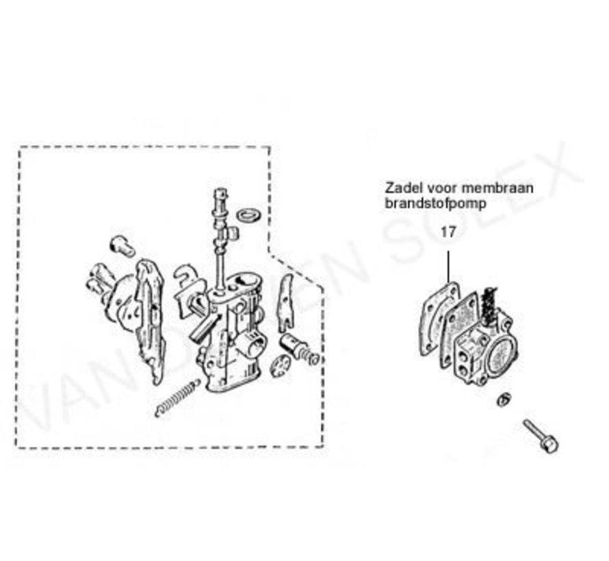 17. Membransitz / Pumpenfuss Solex