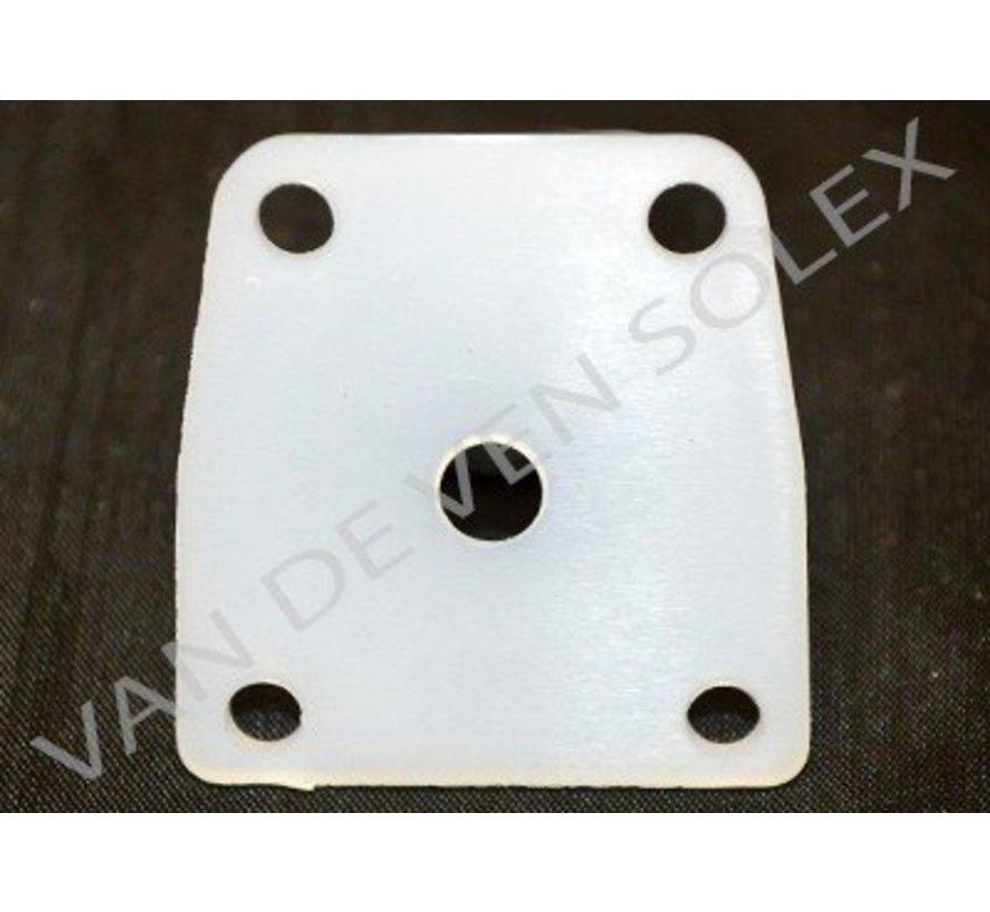 17. Zadel voor membraan brandstofpomp Solex