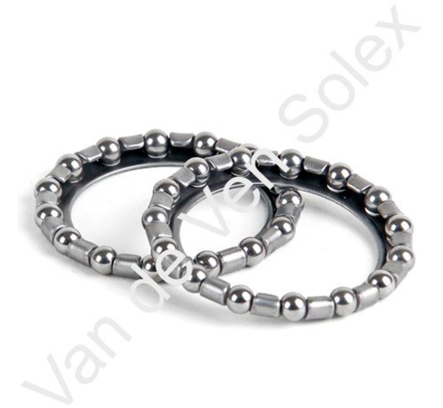 55. Fork bearings Solex 2 pieces