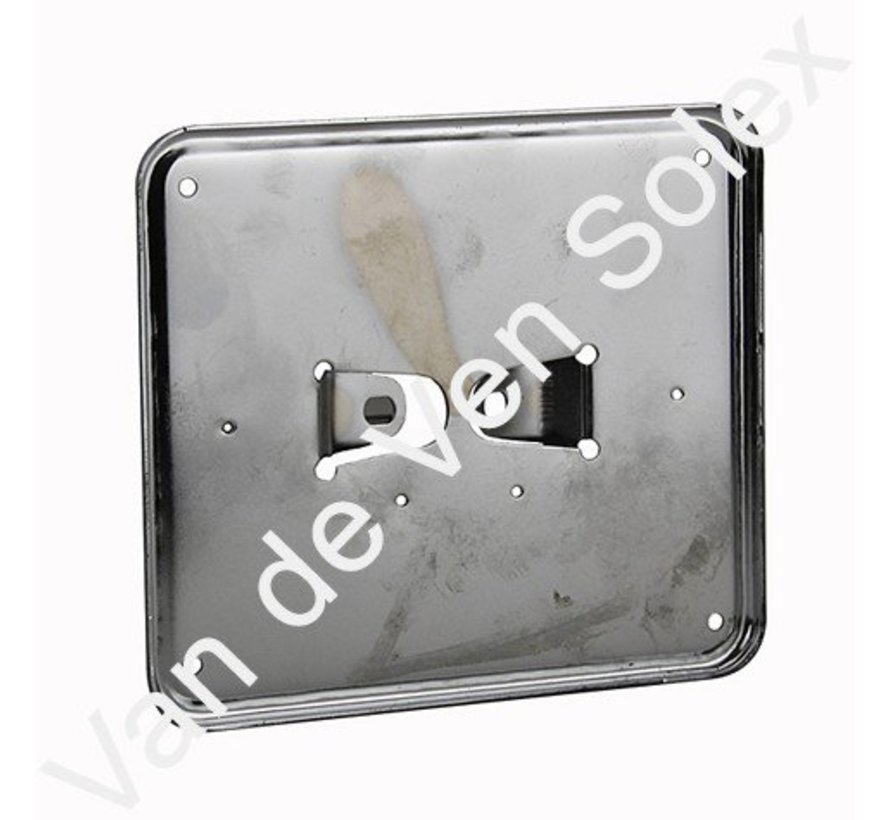 Registration plate holder chromium (horizontal) Solex