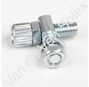 05. Kabelverstellschraube für Bremszug hinten Solex