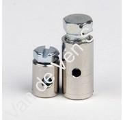 06. Schroefnippel - Bevestigingselement decompressie kabeleind Solex dik