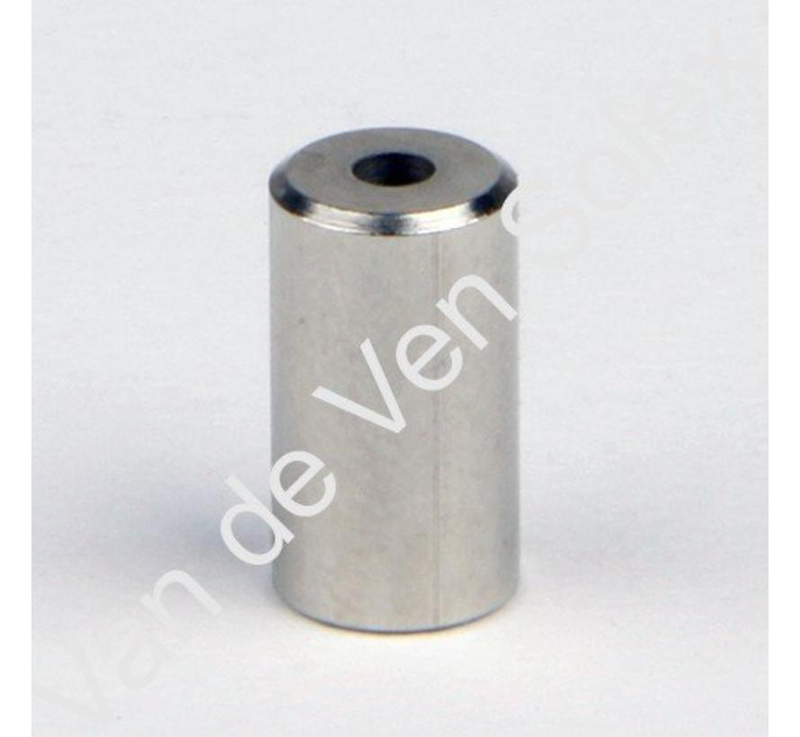 09. Kabelendhülse für Bowdenzughülle Solex 6 mm.