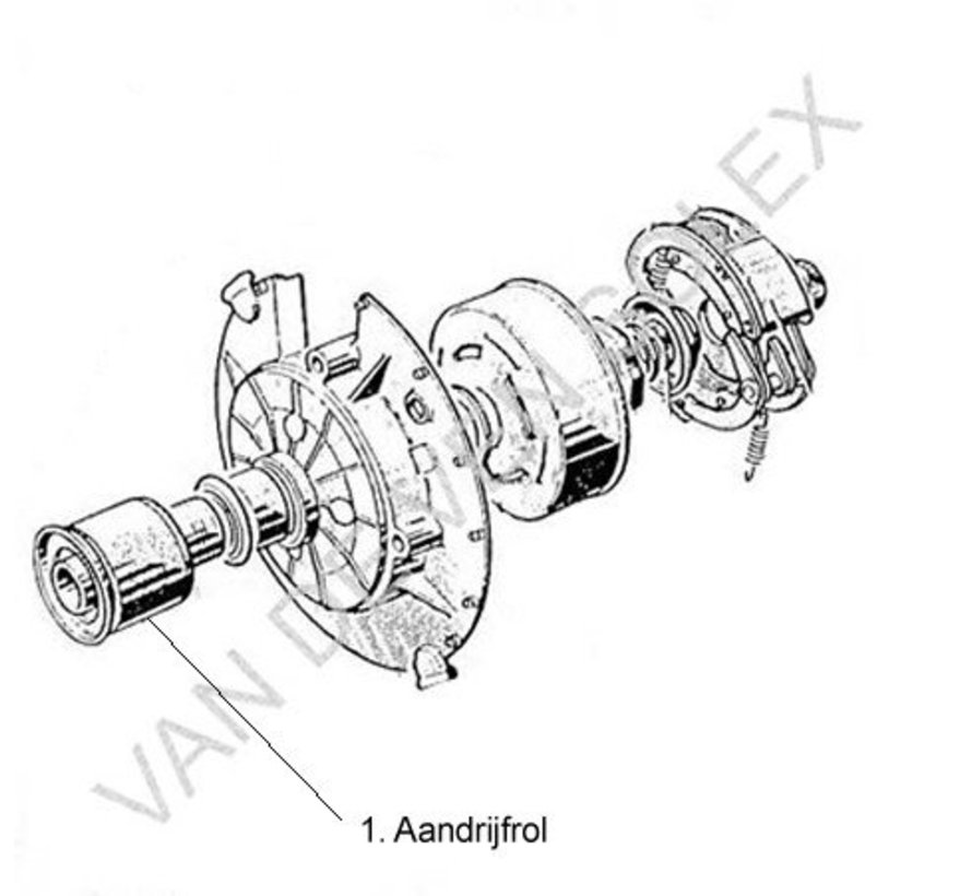 03. Koppeling voering Solex 2 stuks