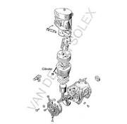 19. Cilinder Hongaars-Franse of Ned. solex (alleen gebruikte of eigen laten honen)