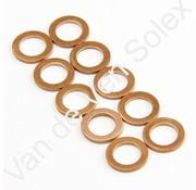33. Copper washer M6x20 10 pieces Solex