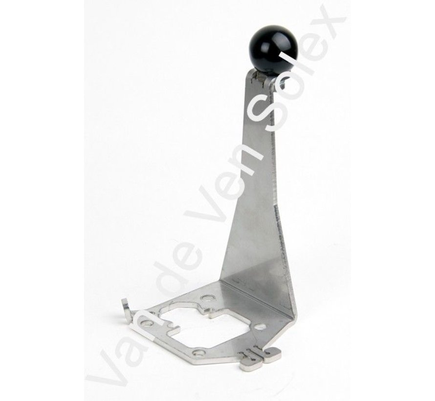 25. Engine lift Dutch/French Solex stainless steel. Compatible with race cylinder head.