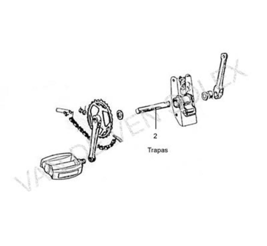 10. Voetpedalen bloktrappers (2stuks) Solex