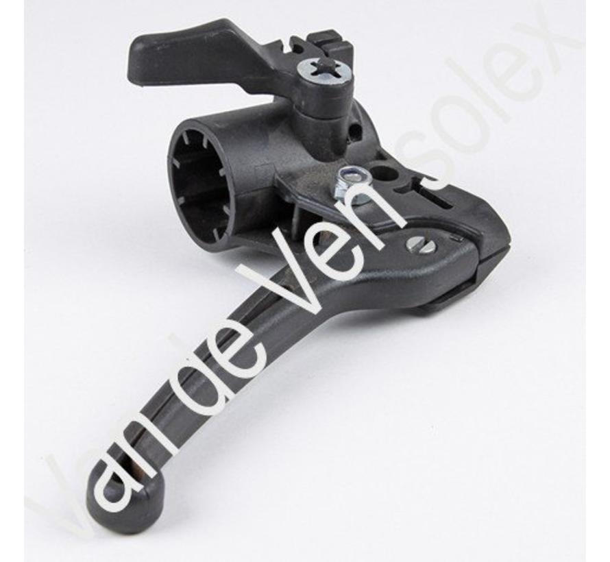 04. Left hilt complete plastic brake lever Solex