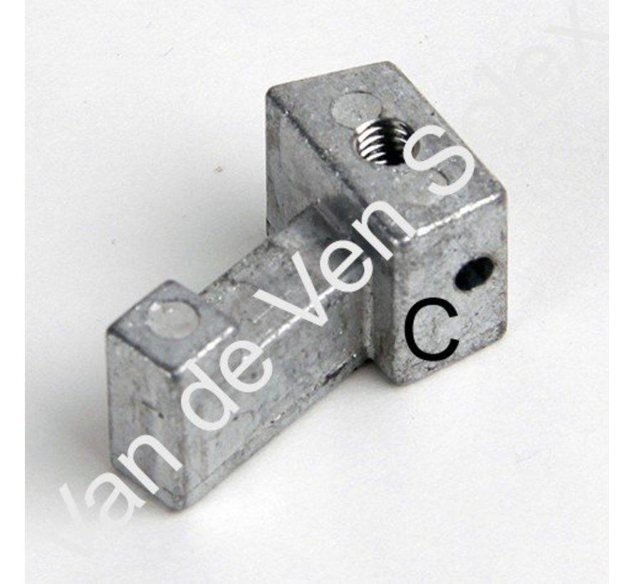 08. Gleitsteine für Bremskabel vorne Solex c