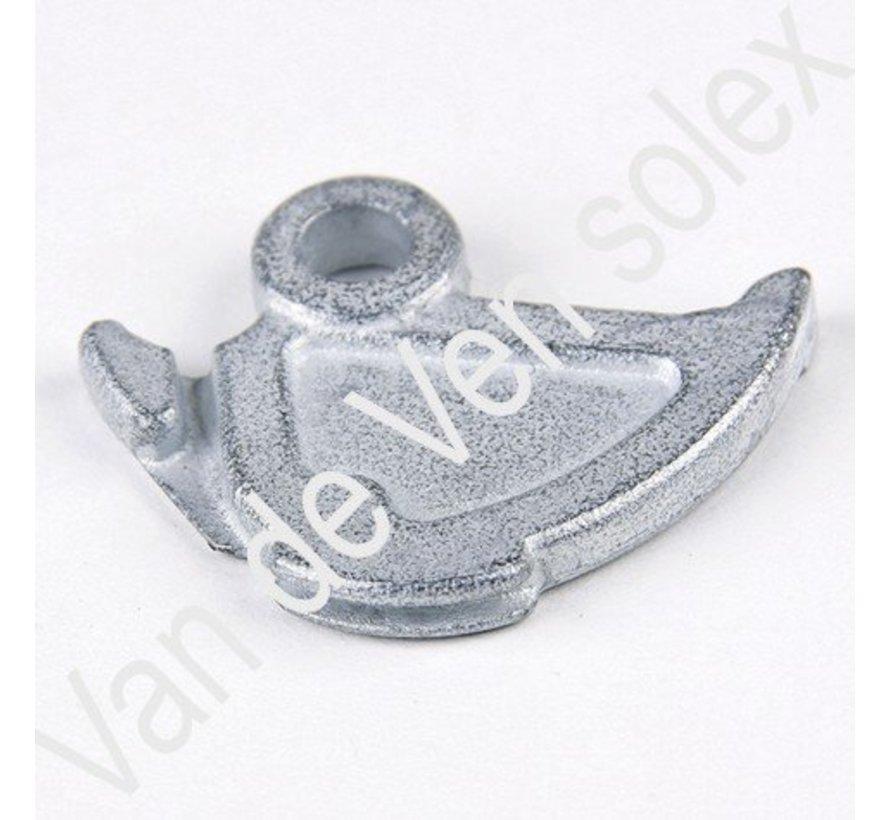 14. Aluminium inside plate for twist throttle Solex 3800