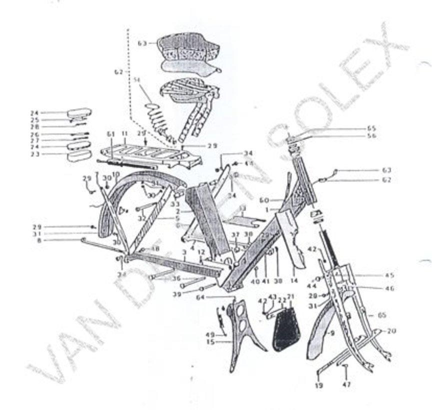 15. Lever de compressor set Solex OTO