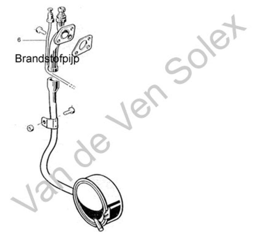 06. abdichtung kraftstoffleitung vergaser velosolex moped