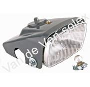 01. Kunststoff Lichtkappe Solex 5000. Komplett mit Reflektor, Fassung und Birne.