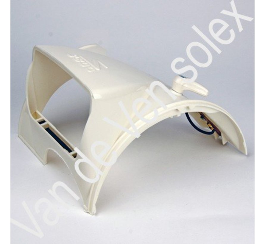 01. Light cover Solex in white
