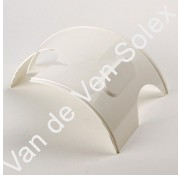 01. Headlight cover Solex white