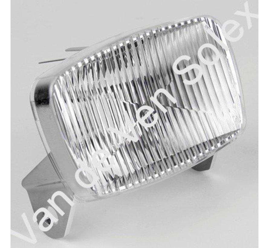 02. Plastic reflector headlight with bulb Solex 5000