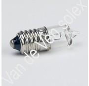 03. Halogeenlamp 6V-7,5W schroefdraad Solex. Voorlicht