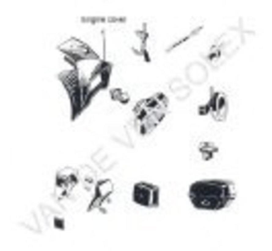 03. Bulb 6V-3W rear light with thread Solex