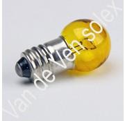 03. Peer 6V-7,5W schroefdraad geel Solex, Voorlicht