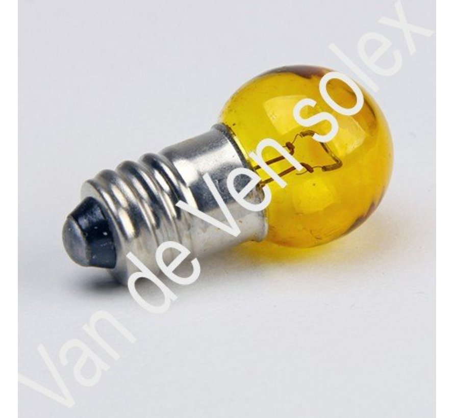 03. Yellow bulbs 6V-7,5W with thread Solex