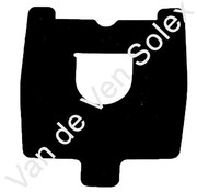 10. Rubber sealing gasket rearlight cover Solex 5000-6000