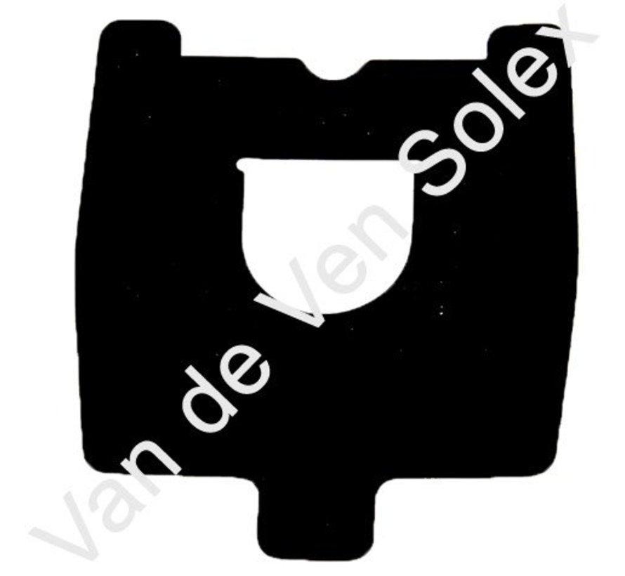 10. rubbere afdichtpakking achterlicht Solex type 5000 6000