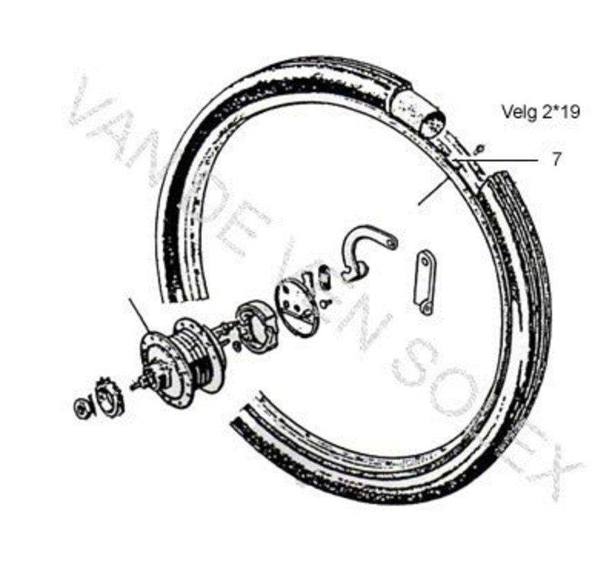 09. Tyre Solex 25 x 2 black. Is equal to 24 x 1 1/2 x 1 3/4 (600x45B)