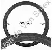 09. Tyre Solex 24 x 1 1/2 x 1 3/4 (600x45B) Type YY black