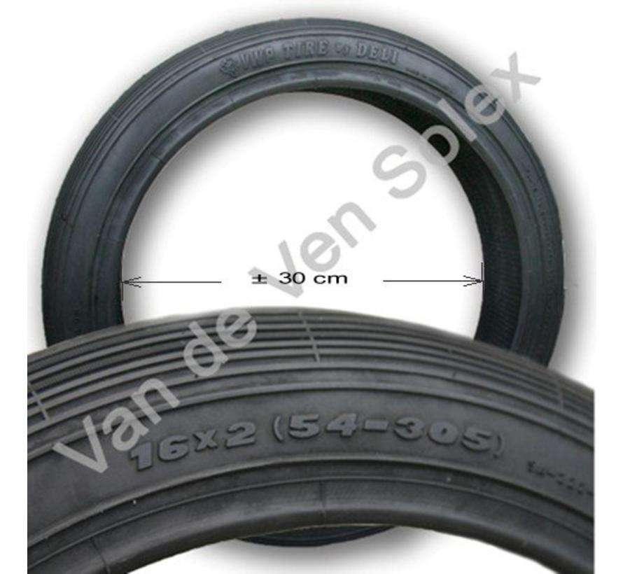 09. Tyre Dutch Solex 5000 2-12 / 16x2 (54x305) black