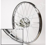 10. Rear wheel without tyre and inner Dutch Solex