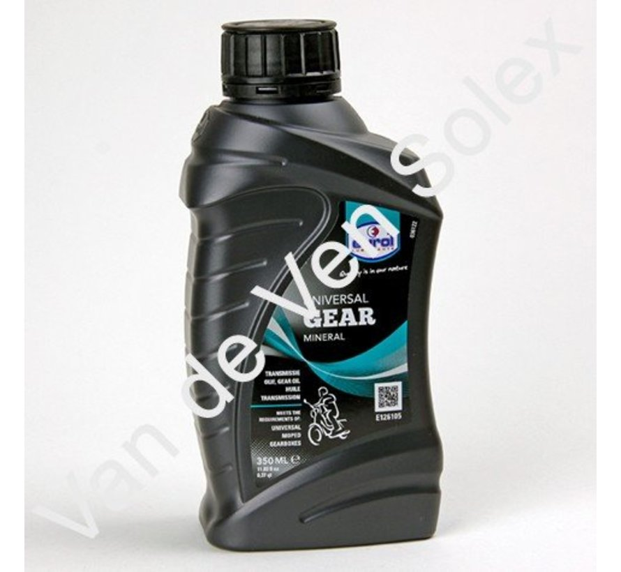 Gearbox oil for mopeds