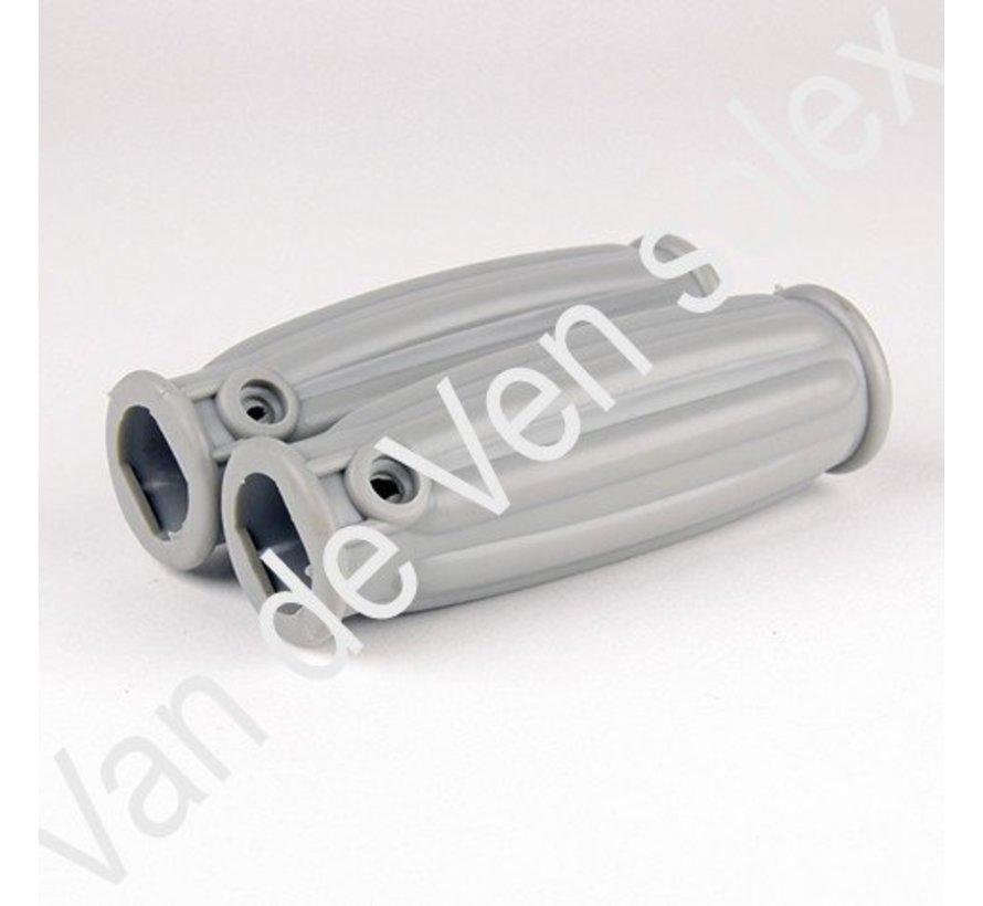 15. RVS gasdekompresseur Oudere Solex modellen