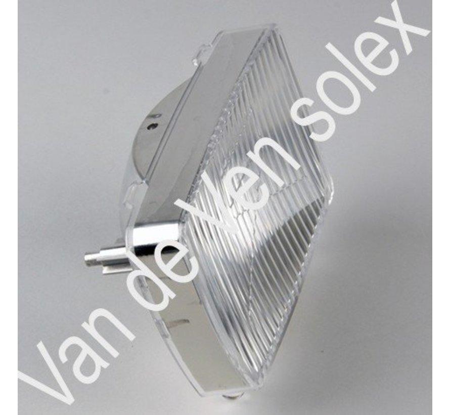01. Lichtkap voor de Solex in wit