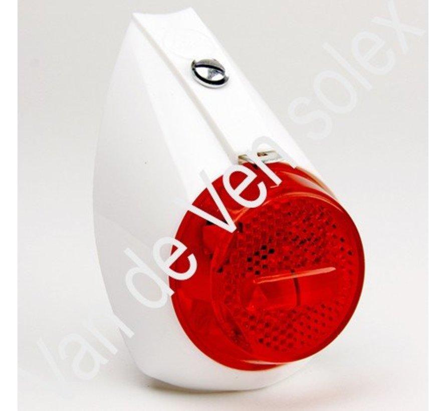 03. Bulb 6V-3W with thread for rear light Lucia Solex (thick bulb)