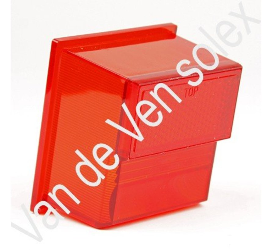 10. Rubber sealing gasket rearlight cover Solex 5000-6000