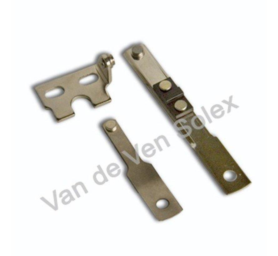 12. Contact breaker complete Solex type 3800