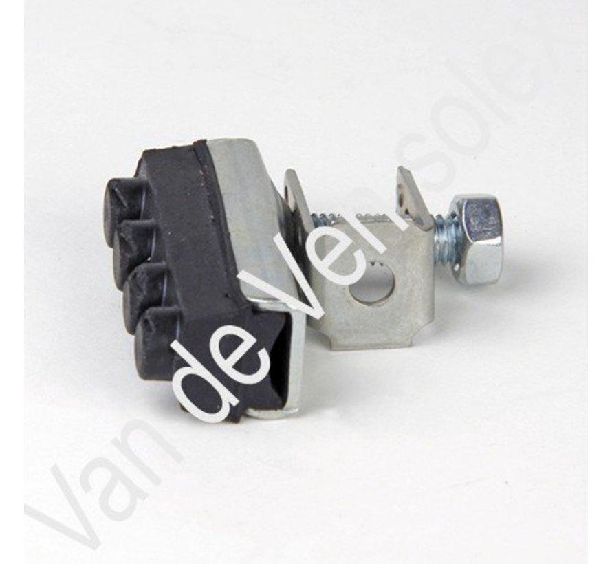 13. Brake shoe hold Solex