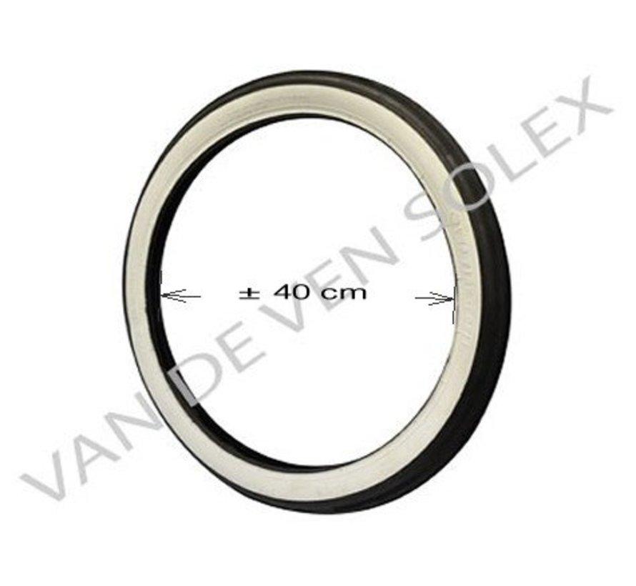 """08. Inner tube car valve 16"""" 17` French/German Solex 5000"""